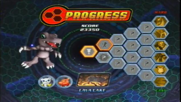 Digimon rumble arena 2 save + game 100% all caracteries (ps2.