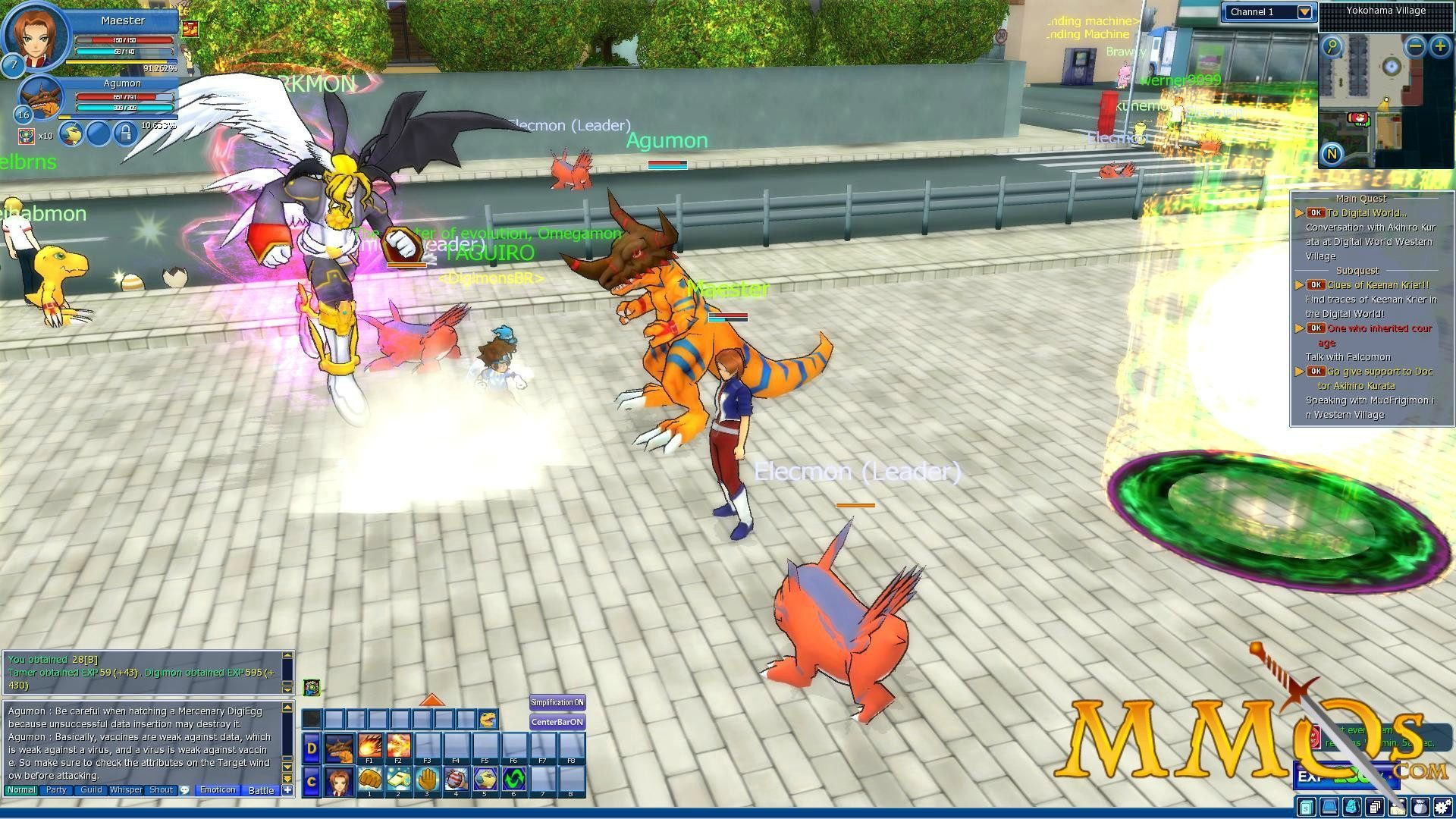 digimon masters online 2017 download